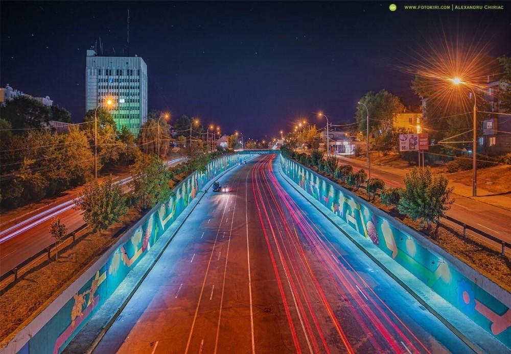 """FOTO // """"Pomul Vieții"""" de sub podul de la Telecentru a fost inaugurat"""